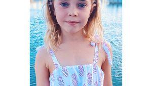 Groß geworden: Madeleines Tochter Leonore ist schon sechs!