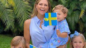 Madeleine von Schweden postet ein niedliches Familienfoto!