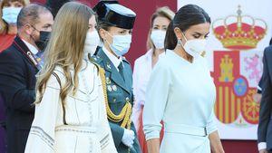 Nationalfeiertag in Spanien: Prinzessin Sofía im Boho-Kleid