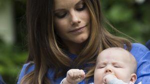 Prinzessin Sofia und Prinz Alexander beim Fotoshooting auf Schloss Solliden
