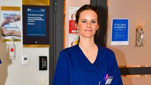 Seit April: Sofia von Schweden will Klinikdienst fortsetzen