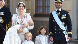 Sofia & Carl Philip von Schweden: Neues Family-Pic zum Fest!
