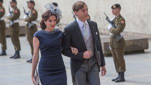Prinzessin Tessy und Prinz Louis 2015 am Nationalfeiertag von Luxemburg