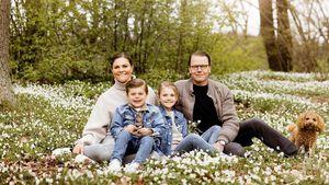 Blumige Pfingstgrüße: Neue Bilder der schwedischen Royals