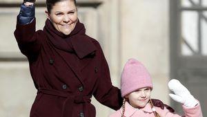 Estelle bekam für Prinzessin Victorias Namenstag schulfrei