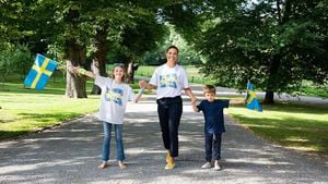 Paralympics: Prinzessin Victoria und Kids feuern Sportler an