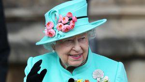 Queen Elizabeth II. nach dem Gottesdienst in der St. Georges Kathedrale