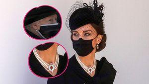 Emotional: Darum trugen Royal-Ladys bei Beerdigung Perlen