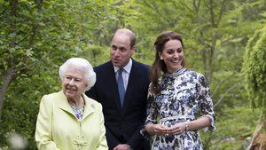 Queen, William und Kate treffen sich wieder – mit Abstand
