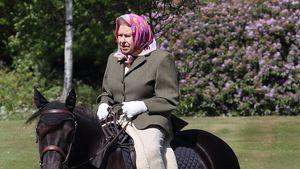 Vor 73. Hochzeitstag mit Philip: Die Queen genießt Ausritt