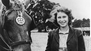Queen Elizabeth II. 1944