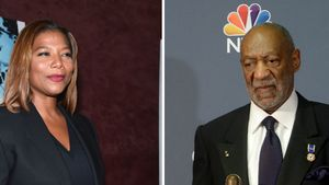 Bill Cosby und Queen Latifah