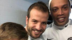 Rafael van der Vaart: Fan-Selfie mit Weltmeister Ronaldinho!