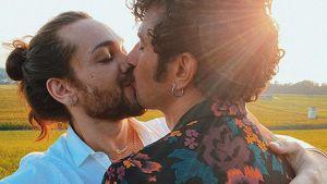 So süß! Riccardo Simonetti teilt erstes Kussfoto mit Steven