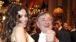 Richard Lugner mit Ruby Rubacuori beim Wiener Opernball 2011