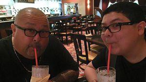 Rico Rodriguez und sein Papa Roy