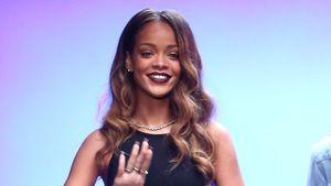 Rihanna bei ihrer Fashion Show