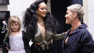 Grammys backstage: Bei RiRi werden Pink & Willow zu Fangirls