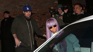 Rob Kardashian und Blac Chyna vor dem Tao Nightclub in Los Angeles