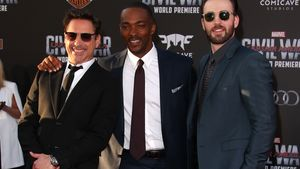 "Chris Evans & Co. rocken die ""Captain American""-Premiere"