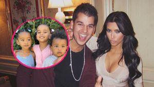 Wow! So sehr ähneln sich die Kids von Rob und Kim Kardashian