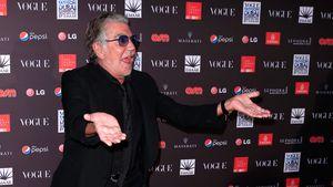 Roberto Cavalli zeigt sich ohne Sonnenbrille!