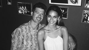 Robin Thicke und April Love Geary