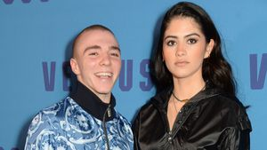 Rocco Ritchie und Kim Turnball auf der London Fashion Week 2017