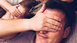 Rocco Stark mit seiner Tochter und seiner Freundin
