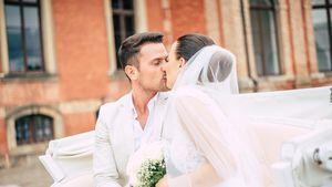 Trotz Trennung: Rocco & Nathalies Hochzeitsfotos noch online