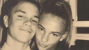 Süßes Couple-Pic: Romeo Beckham gratuliert seiner Freundin