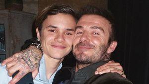 So süß gratulieren die Beckhams Papa David zum Geburtstag!