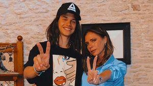 Wie cool: Romeo Beckham imitiert Mama Vic mit Perücke
