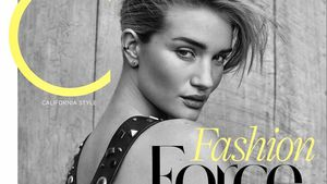"Rosie Huntington-Whiteley auf dem Cover des ""C Magazine"""
