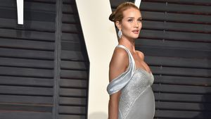 Rosie Huntington-Whiteley bei der 2017 Vanity Fair Oscar Party