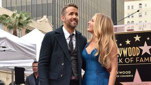 Ryan Reynolds und Blake Lively auf dem Walk of Fame