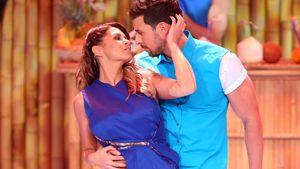 """Sabia Boulahrouz und Leonard Freier bei ihrer ersten gemeinsamen """"Dance Dance Dance""""-Performance"""