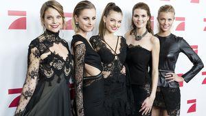 Sabine, Maja, Céline, Lynn und Serlina