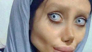 Zombie-Angelina-Jolie muss in Gefängnis-Hölle Haft absitzen