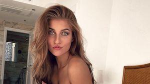 """""""#zufreizügig"""": Sandra Janina posiert mit durchsichtigem Top"""
