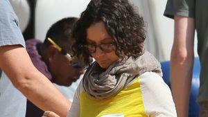 Kürbisrund! Sara Gilbert zeigt ihren Baby-Bauch