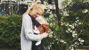 Sara Kulka mit ihrer Tochter Annabell