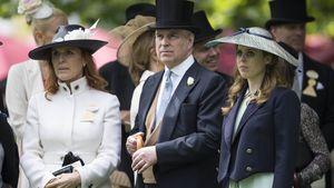 Sarah Ferguson und Prinz Andrew mit Tochter Beatrice beim Pferderennen in Ascot