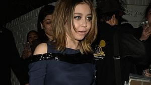 "Sarah Hyland nach der ""Talent Agency Party"" vor dem Chateau Marmont in Los Angeles"