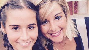 Sarah Lombardi mit ihrer Mutter Sonja Strano