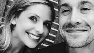 Sarah Michelle Gellar mit Ehemann Freddie Prinze Jr.