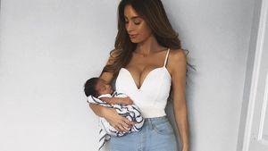 2 Wochen nach Geburt: So viel hat Sarah Stage abgenommen