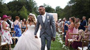 Sarah und Domi Harrison schwelgen in Hochzeitserinnerungen