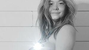 Schwangerer PLL-Star Sasha Pieterse postet Oben-ohne-Bild