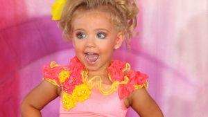Zur Miss-Wahl: 3-Jährige bekommt Bräunungsdusche